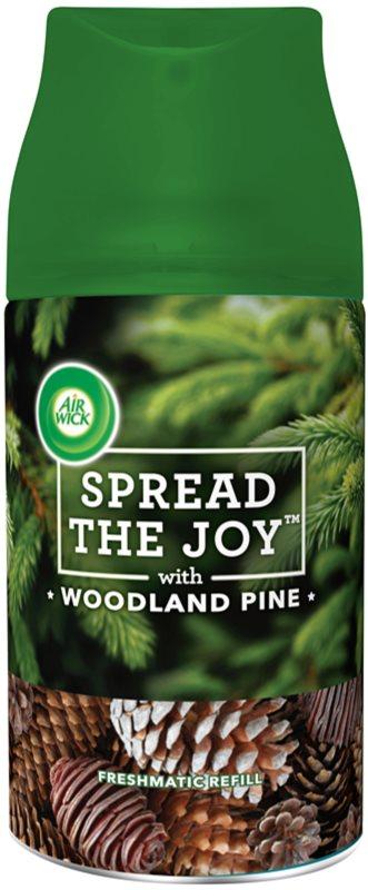 Air Wick Spread the Joy Woodland Pine automatyczny odświeżacz powietrza 250 ml napełnienie