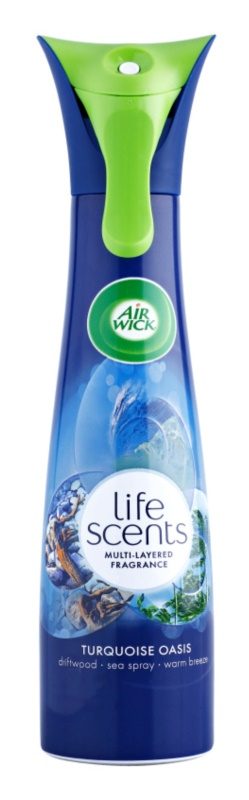Air Wick Life Scents Turquoise Oasis spray para el hogar 210 ml