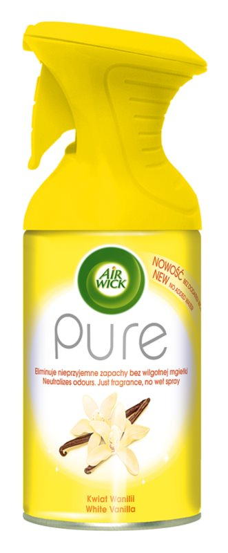 Air Wick Pure White Vanilla spray lakásba 250 ml