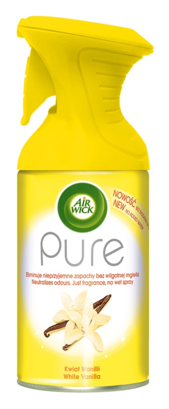 Air Wick Pure White Vanilla spray pentru camera 250 ml