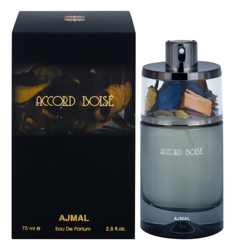 Ajmal Accord Boise eau de parfum pour homme 75 ml
