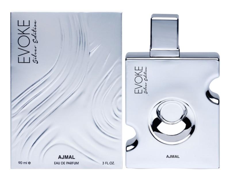 Ajmal Evoke Silver Edition eau de parfum pour homme 90 ml