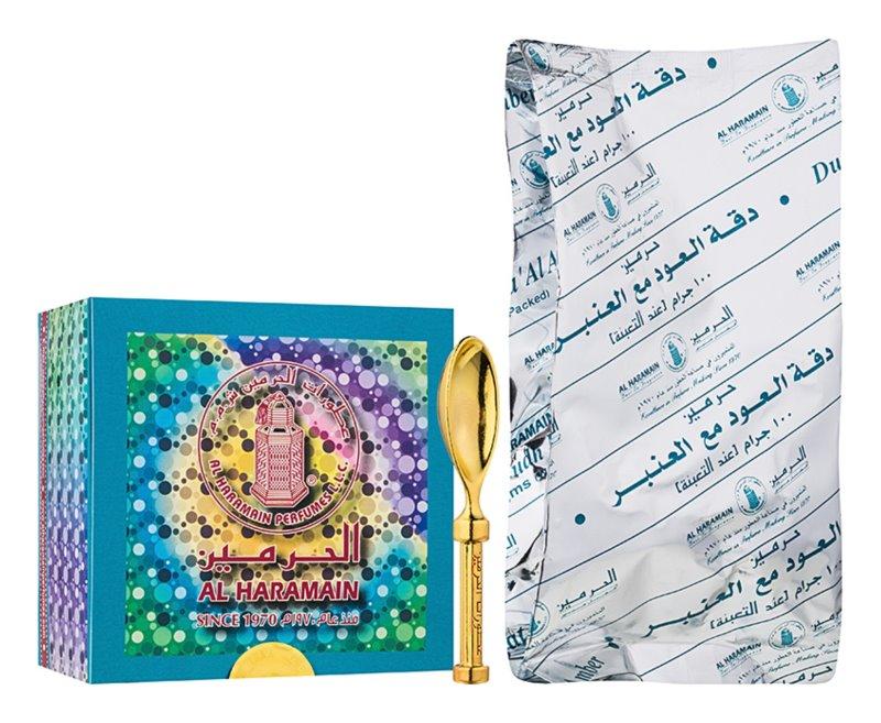 Al Haramain Al Haramain Duggat Al Oudh Ma'Al Amber encens 100 g