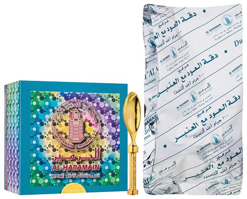 Al Haramain Al Haramain Duggat Al Oudh Ma'Al Amber tamjan 100 g