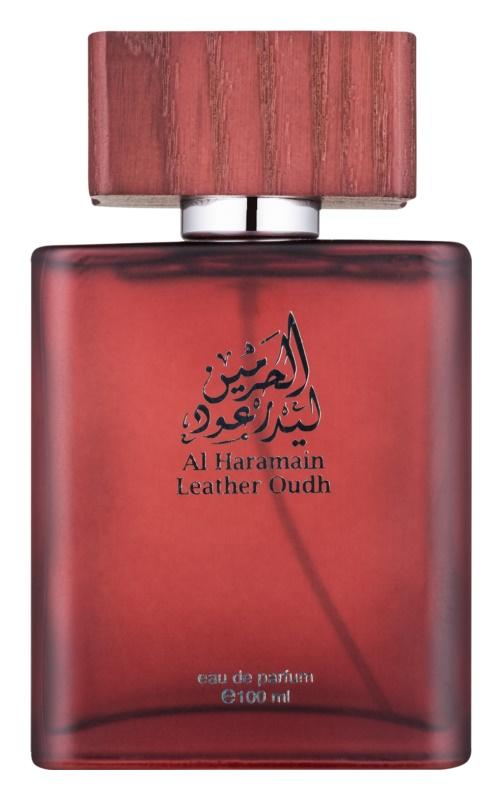 Al Haramain Leather Oudh eau de parfum pentru barbati 100 ml