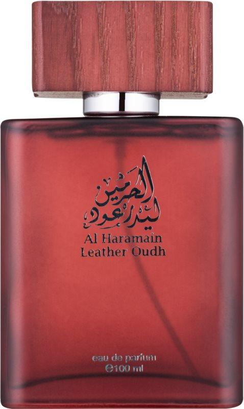 Al Haramain Leather Oudh eau de parfum per uomo 100 ml