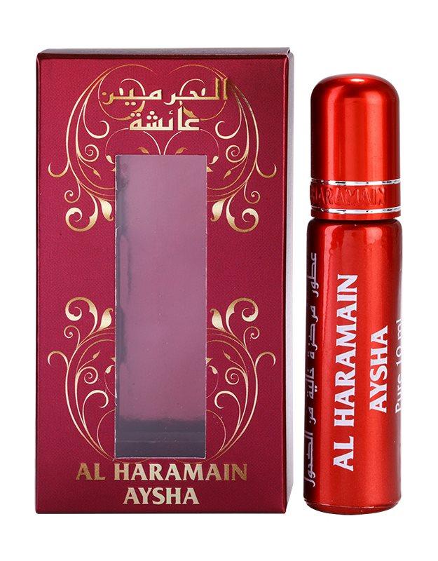 Al Haramain Aysha aceite perfumado unisex 10 ml  (roll on)