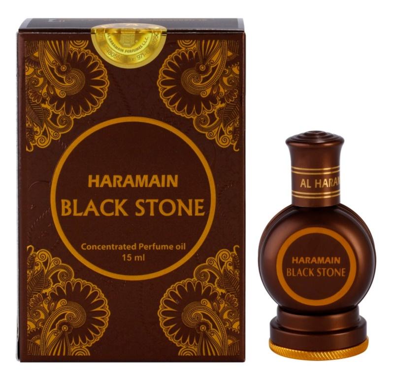 Al Haramain Black Stone huile parfumée pour homme 15 ml
