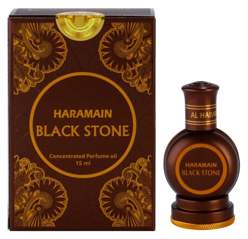 Al Haramain Black Stone olio profumato per uomo 15 ml