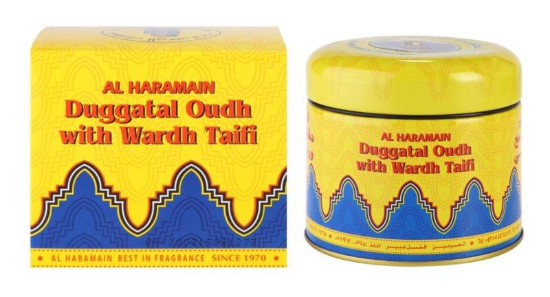 Al Haramain Duggatal Oudh with Wardh Taifi Weihrauch 50 g