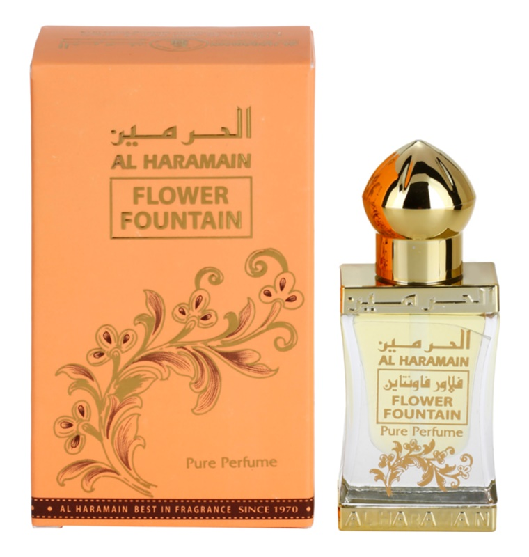 Al Haramain Flower Fountain Perfumed Oil for Women 12 ml