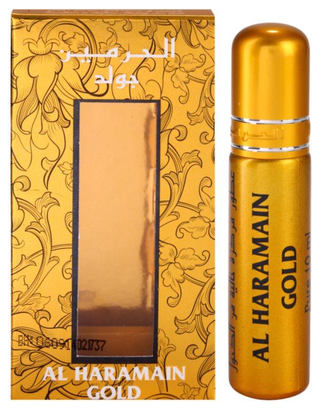 Al Haramain Gold parfémovaný olej pre ženy 10 ml