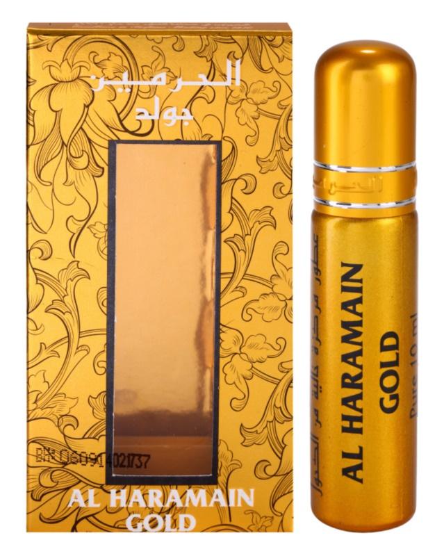 Al Haramain Gold parfümiertes Öl Damen 10 ml