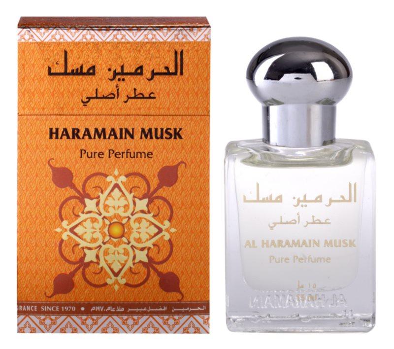 Al Haramain Musk parfémovaný olej pro ženy 15 ml