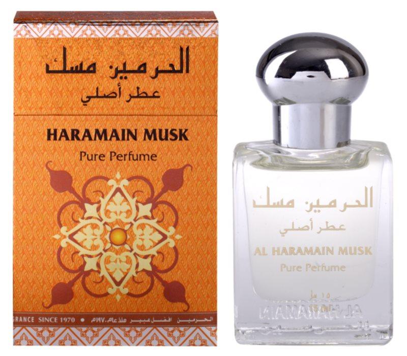 Al Haramain Musk parfümiertes Öl für Damen 15 ml