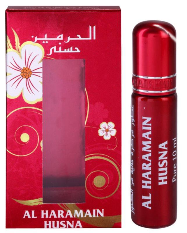 Al Haramain Husna parfümiertes Öl für Damen 10 ml