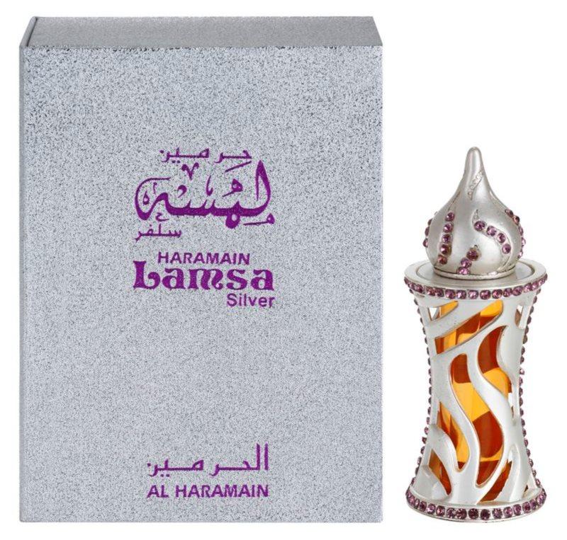 Al Haramain Lamsa Silver olio profumato unisex 12 ml