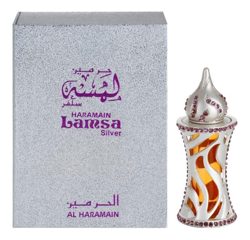 Al Haramain Lamsa Silver parfümiertes Öl unisex 12 ml