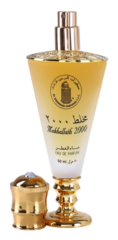 Al Haramain Mukkallath 2000 Gold eau de parfum per donna 50 ml