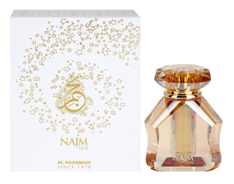 Al Haramain Najm Gold olio profumato unisex 18 ml