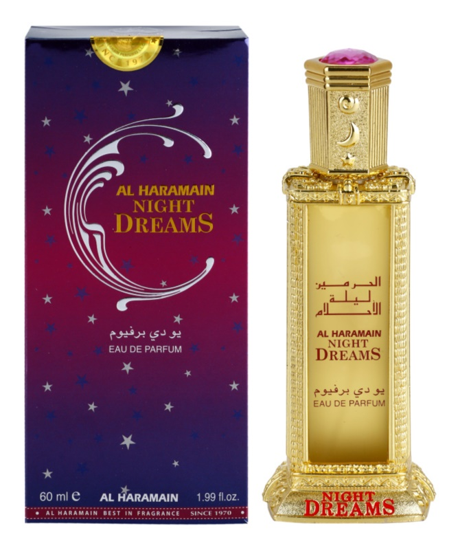 Al Haramain Night Dreams eau de parfum pour femme 60 ml