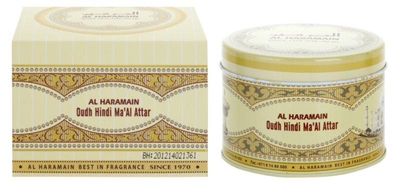 Al Haramain Oudh Hindi Ma'Al Attar kadidlo 50 g