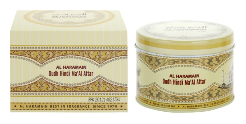 Al Haramain Oudh Hindi Ma'Al Attar Wierook  50 gr