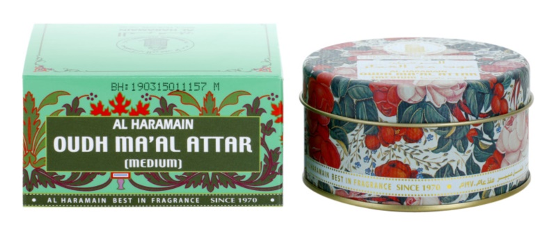 Al Haramain Oudh Ma'Al Attar incenso 40 g