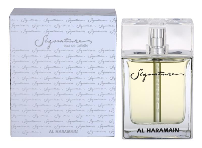Al Haramain Signature Eau de Toilette Herren 100 ml