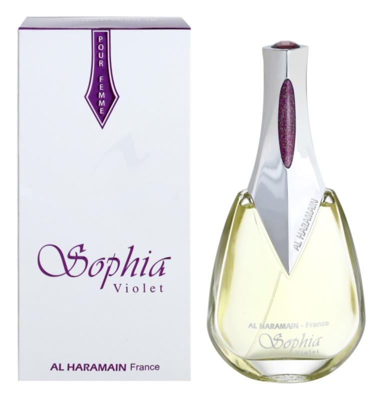 Al Haramain Sophia Violet eau de parfum per donna 100 ml
