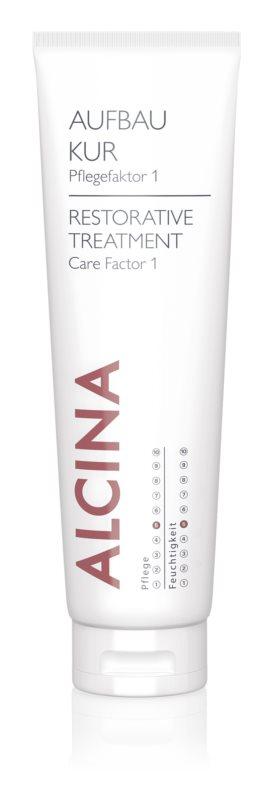 Alcina Dry and Damaged Hair trattamento rigenerante per capelli più forti