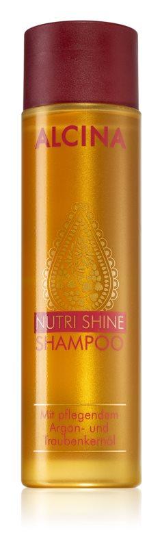 Alcina Nutri Shine sampon hranitor cu ulei de argan