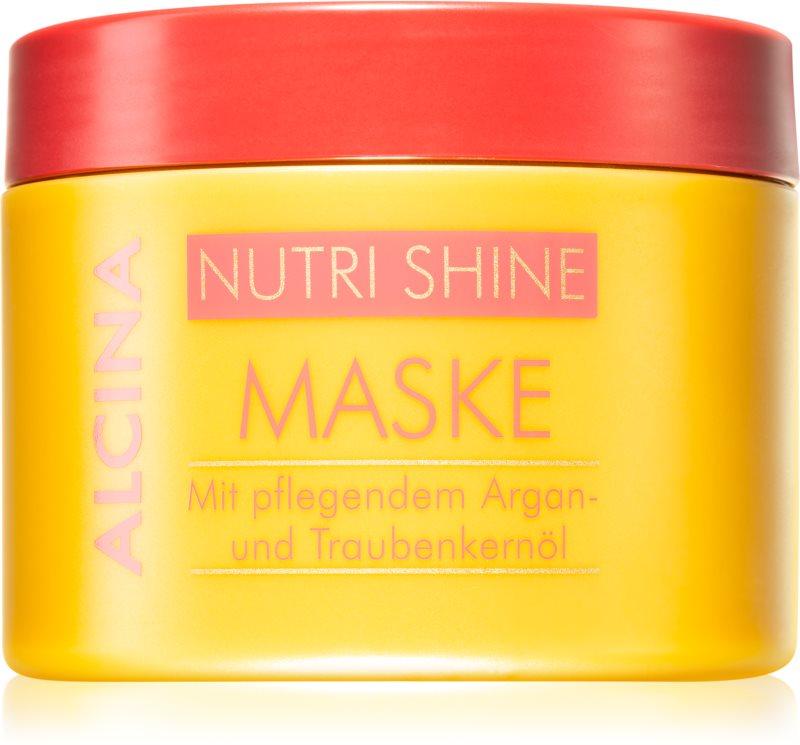 Alcina Nutri Shine vyživujúca maska na vlasy s arganovým olejom