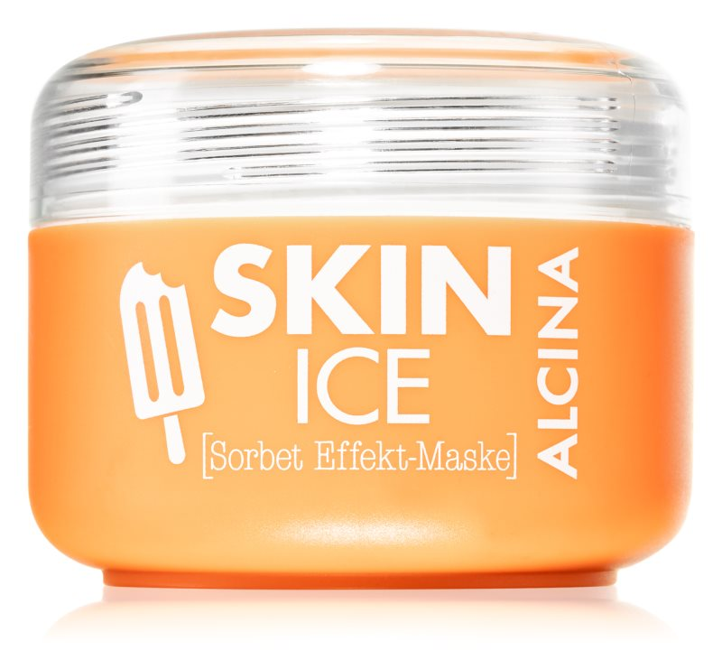 Alcina Skin Ice Sorbet Face Mask with Cooling Effect