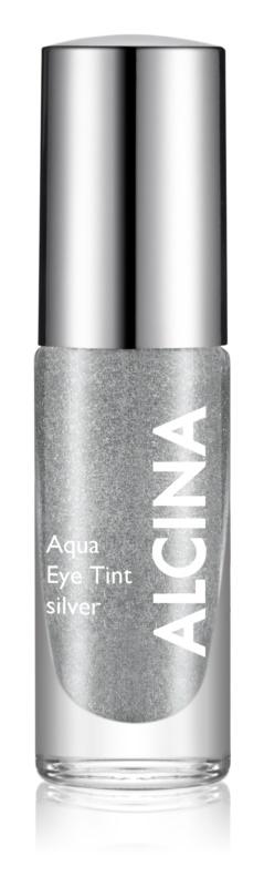 Alcina Summer Breeze Aqua Eye Tint dvoufázové oční stíny s metalickým efektem