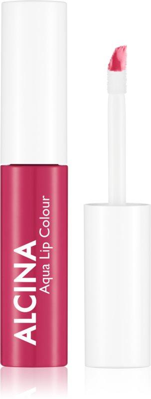 Alcina Summer Breeze Aqua Lip Colour стійкий блиск для губ