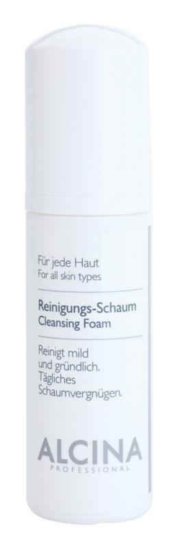 Alcina For All Skin Types čisticí pěna s panthenolem