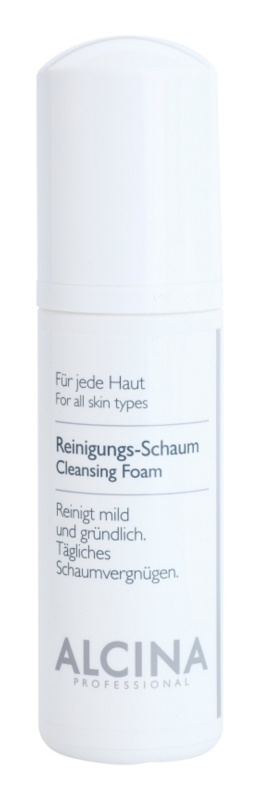 Alcina For All Skin Types Reinigingsschuim  met Panthenol