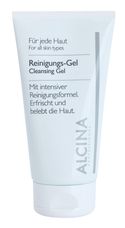 Alcina For All Skin Types čisticí gel s aloe vera a zinkem