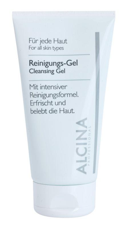 Alcina For All Skin Types Gel de limpeza com aloe vera e zinco