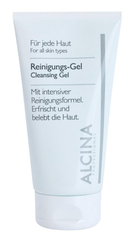 Alcina For All Skin Types очищуючий гель з алое вера та цинком