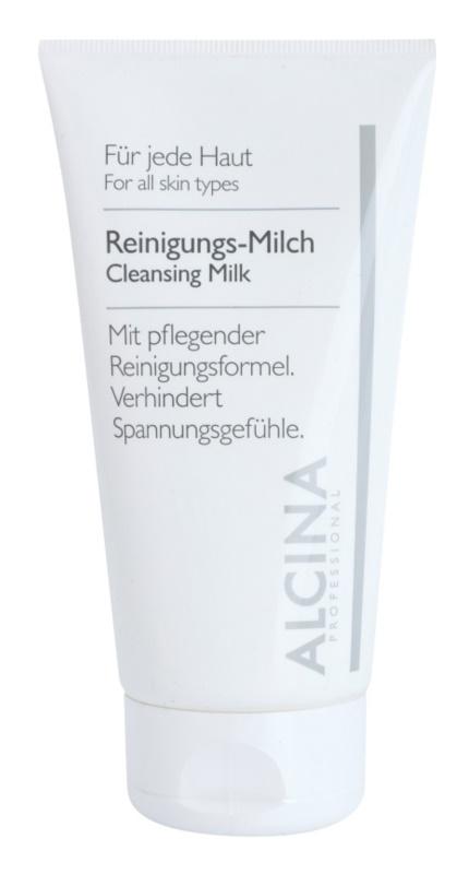 Alcina For All Skin Types lapte pentru curatare
