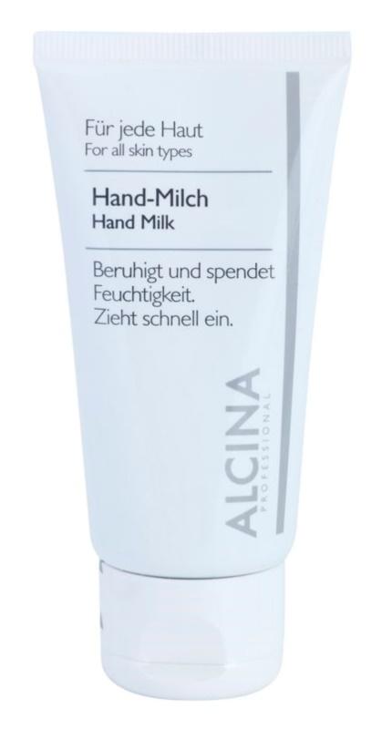 Alcina For All Skin Types mlieko na ruky proti vysušovaniu pokožky