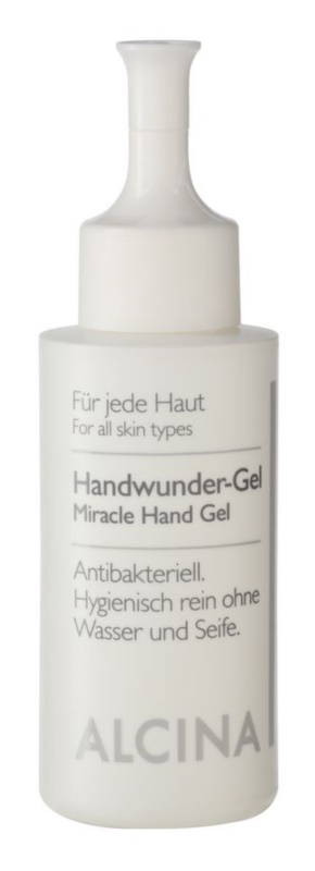 Alcina For All Skin Types antibakteriális gél kézre