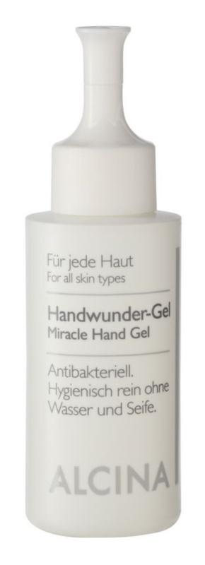 Alcina For All Skin Types antibakterielles Gel für die Hände