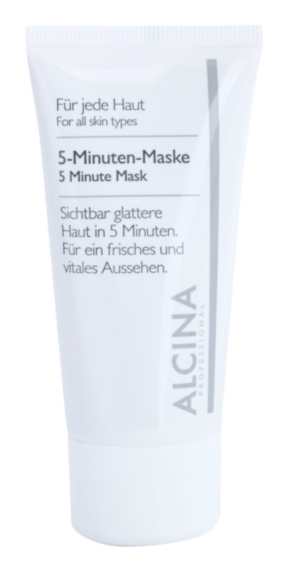 Alcina For All Skin Types 5-minutna maska za svježi izgled lica