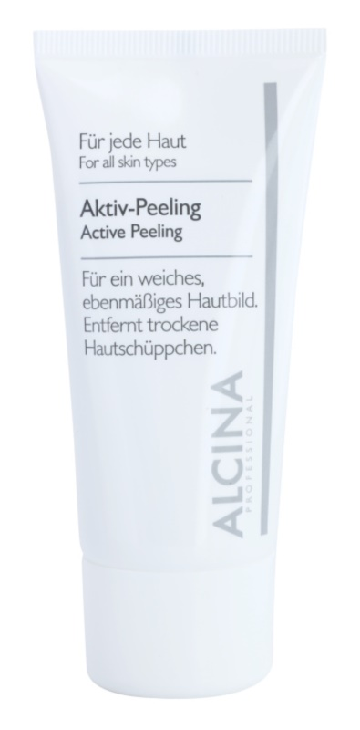 Alcina For All Skin Types peeling actif adoucissant et lissant