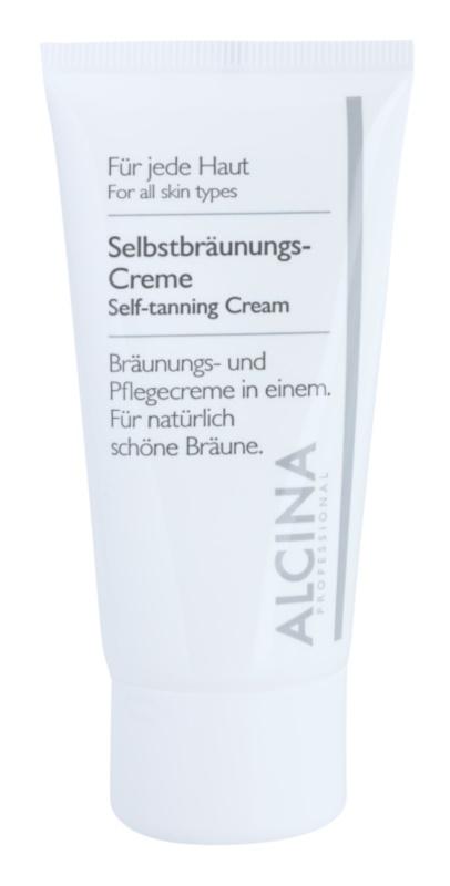 Alcina For All Skin Types samoporjavitvena krema za obraz
