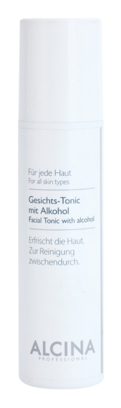 Alcina For All Skin Types lozione tocnica viso con alcool