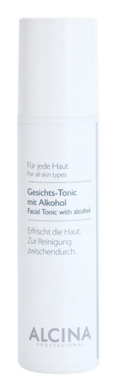 Alcina For All Skin Types tonik za obraz z alkoholom